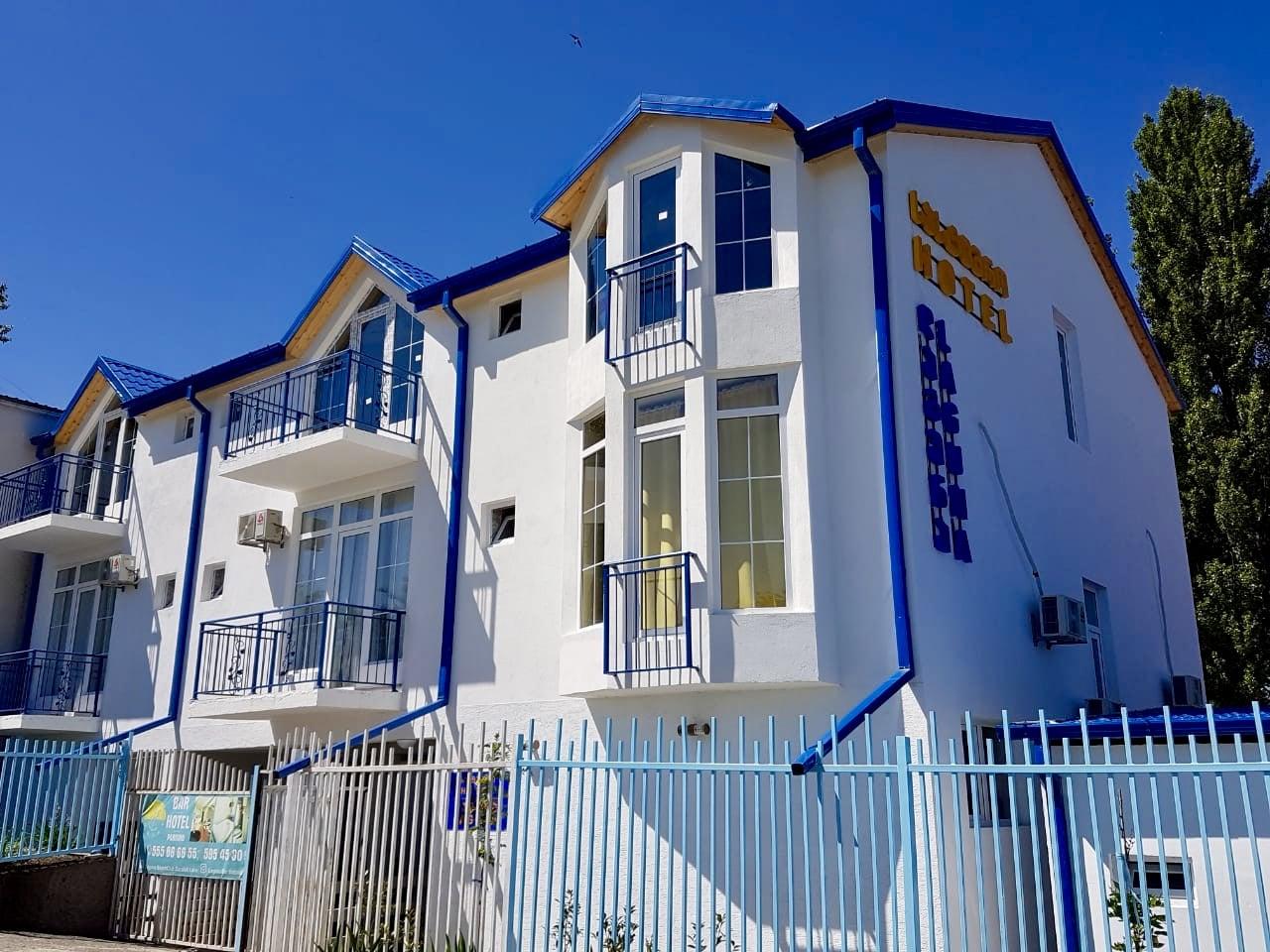 Гостиница, отель, ресторан, пляжный бар Лагуна на озере Базалети, Грузия, Военно-Грузинская дорога, Тбилиси - Казбеги