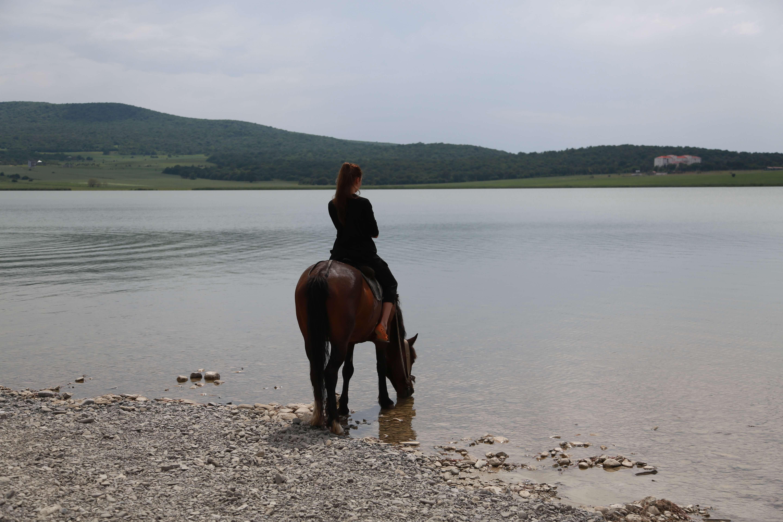 Озеро Базалети Грузия